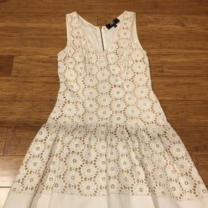 ABS CROCHET LOOK DRESS